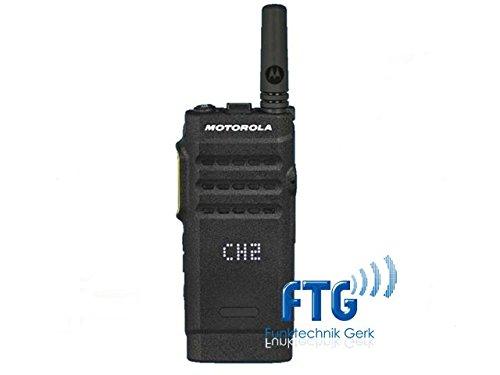 MOTOROLA SL1600 UHF 403-470MHz Inkl. Antenne, Akku, Holster + kundenspezifische Programmierung + MDH88QCP9JA2AN
