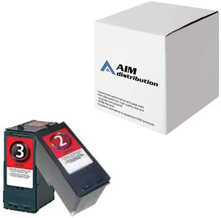 AIM Compatible Replacement for Lexmark NO. 2/NO. 3 Inkjet Combo Pack (Black/Color) (18C1737) - Generic
