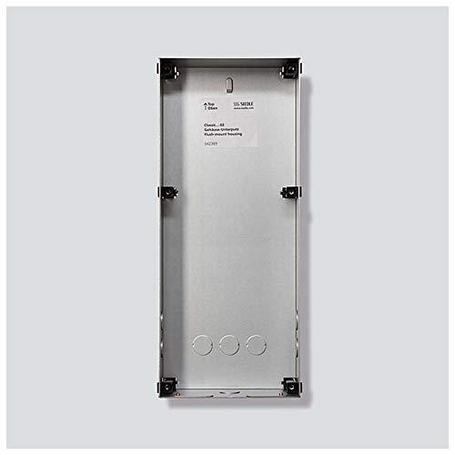 Siedle&Söhne Unterputzgehäuse Classic GU CL 07-0 Stahlblech verzinkt Systemneutral Montageelement für Türstation 4056138007912