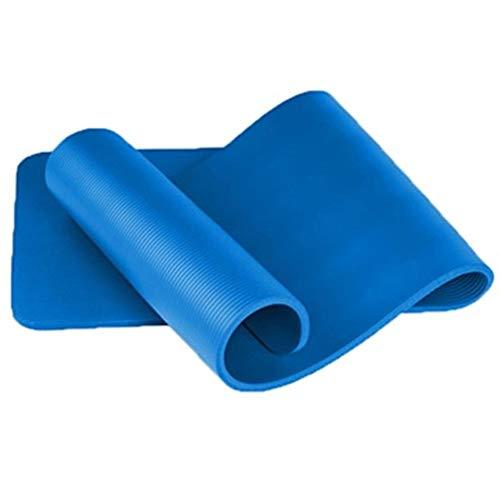Colchoneta para ejercicios de fitness 20mm Yoga Mat engrosada resistente a la rotura antideslizante aptitud colchonetas for gimnasia con la estera de la yoga de la correa de las mujeres gimnasia de lo