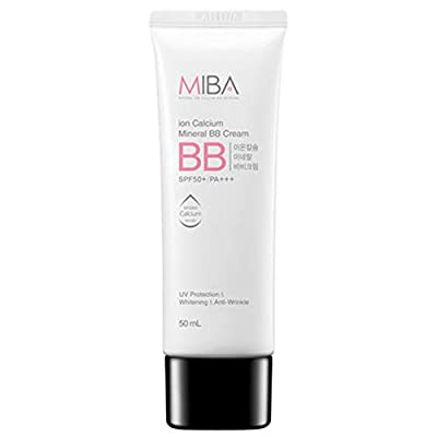 [MiBA] Mineral Bio Ion Calcium Mineral BB Cream SPF 50+/PA+++ 50ml UV Protection & Whitening & Anti-Wrinkle