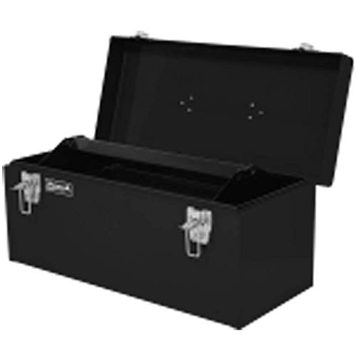 Homak Flat-Top Toolbox with Removable Tray
