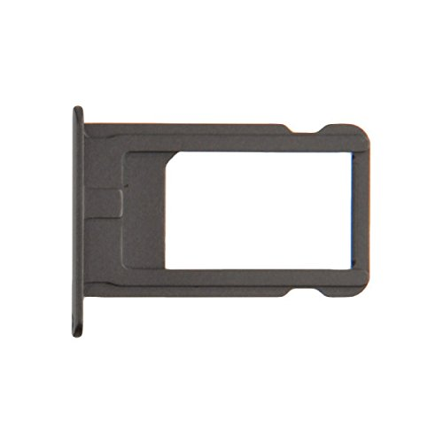 SIM Card Tray for Apple iPhone 6 (CDMA & GSM) (Silver) with Glue Card