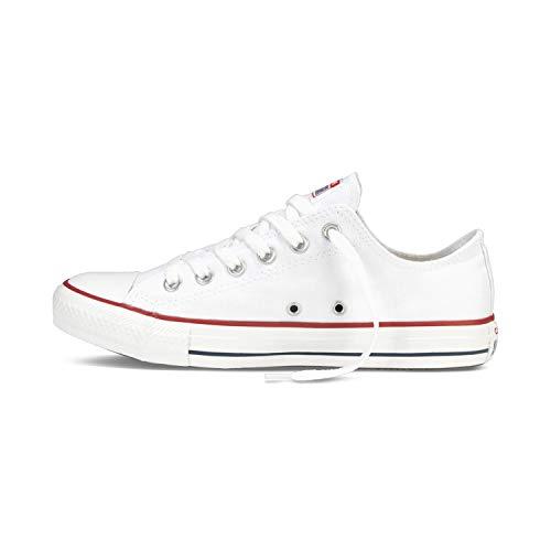 Converse Chuck Taylor All Star - Zapatillas de lona unisex, con pegatina de 7 km/h, color, talla 42 EU
