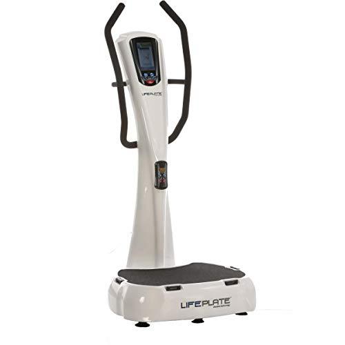 Vibrationsplatte LifePlate 4.1, Trainingsanleitung auf dem Display! 3D-Vibrationen für einen schonenden und effektiven Muskelaufbau. Max. Benutzergewicht: 180kg.