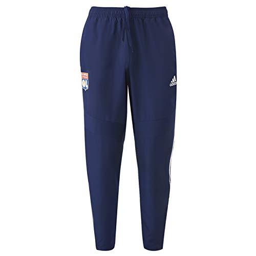 Olympique Lyonnais Pantalon de survêtement Adulte Bleu Adidas OL 19/20 (XS)