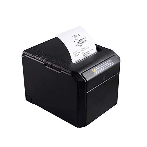 Huolirong Impresora Termica Etiquetas Impresora de Recibos de Recibos térmicos-USB/LAN Impresora de Recibos térmicos de Escritorio, Compatible con el Conjunto de comandos de impresión ESC/POS