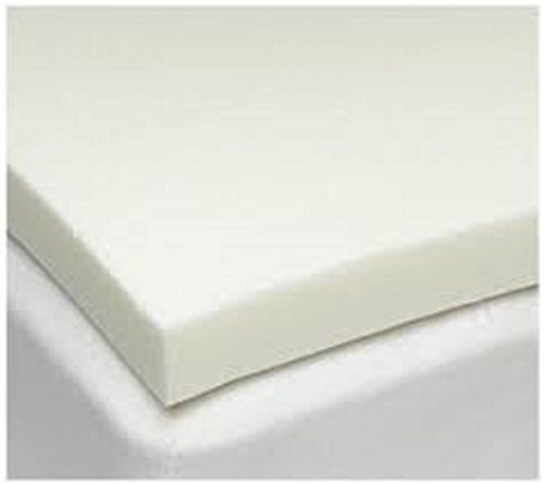 TOPSTYLE COLLECTION 100% MEMORY FOAM MATTRESS TOPPER AND THICKNESS 1' (MEMORY FOAM 1', SINGLE)