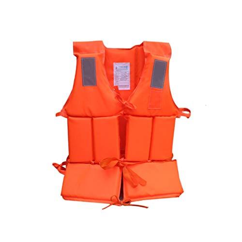 CASOME Feststoff Rettungsweste, Erwachsenen Auftriebsweste, Erwachsene & Jugendliche, 150-N Auftriebsweste für SUP Wasserski Paddeln Wakeboard Kajak Schnorchel-Weste 22 * 18In