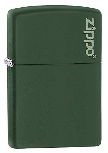 Zippo aansteker – met logo Zippo Green Matte