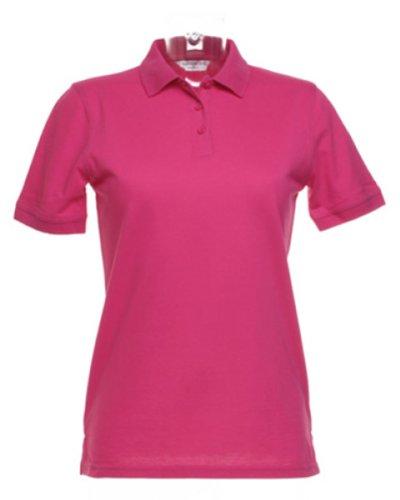 KUSTOM KIT pour Femme Klassic Polo – Couleur Framboise – Taille 12