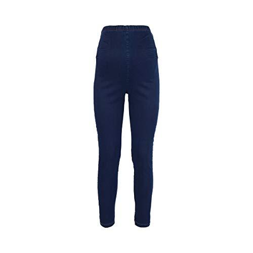 2HEARTS Umstands-Jeans Superstretch Jeggings Light Denim - Umstandshose mit hoch geschnittenem Elastikbund & Extraweite - Light Blue