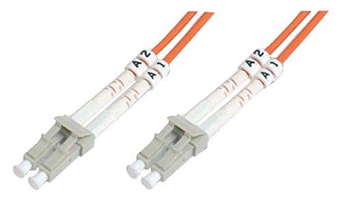 DIGITUS LWL patchkabel OM1-7 m LC op LC glasvezel kabel - LSZH - duplex multimode 50/125μ - 10 GBit/s - oranje