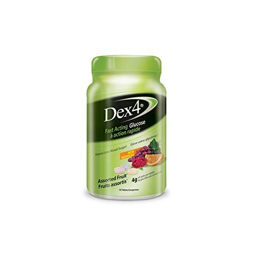 Dex4 Glucose Tablets, Assorted Fruit, 50 Count