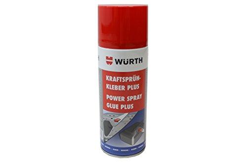 Wuerth FLO10057 Würth Sprühkleber leistungsstark Plus, transparent