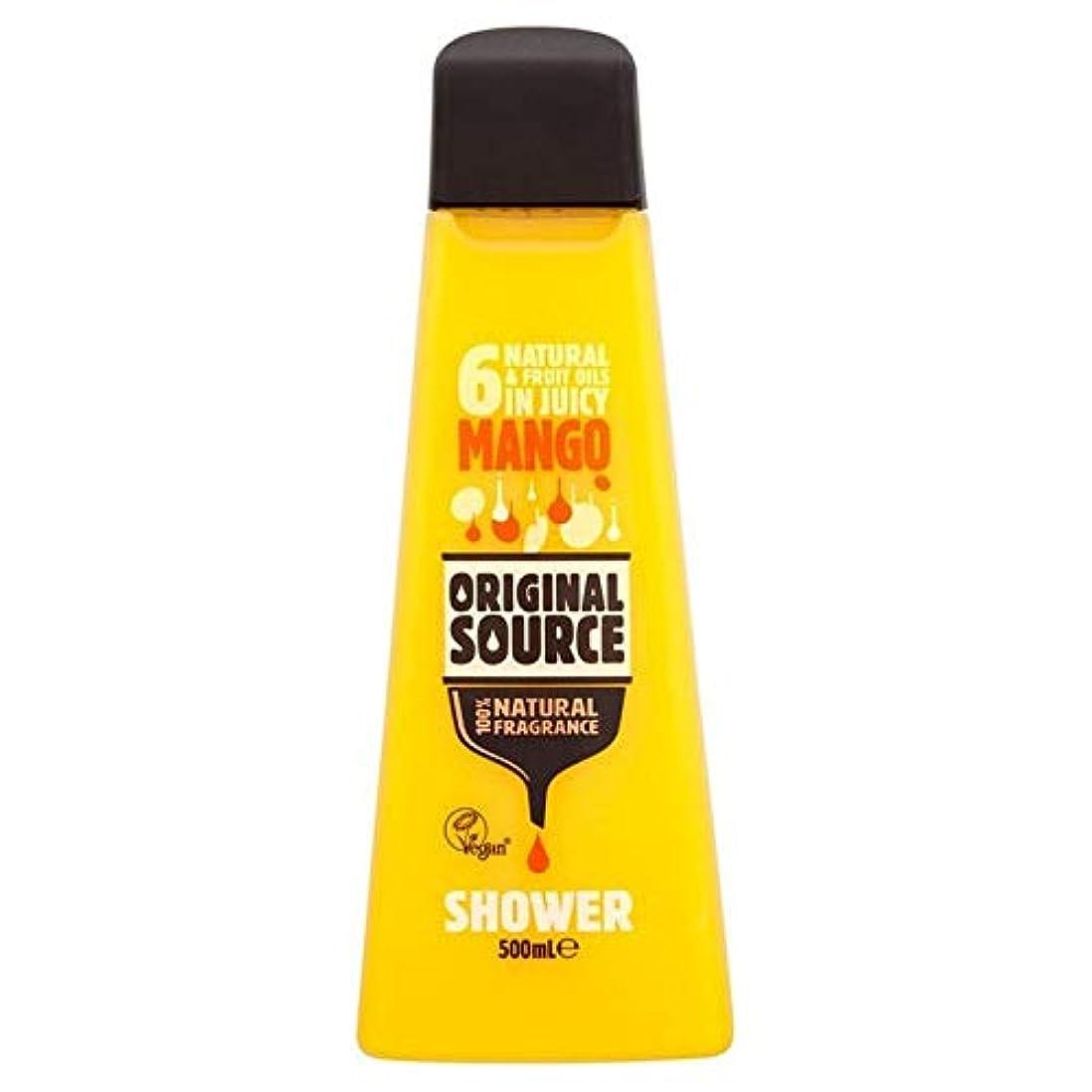 擁するしたい寛容[Original Source ] 元のソースマンゴーシャワージェル500ミリリットル - Original Source Mango Shower Gel 500ml [並行輸入品]