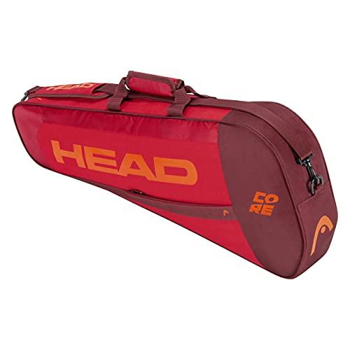 Head Core PRO, Borsa per Racchetta Unisex-Adulto, Rosso/Rosso, Taglia Unica