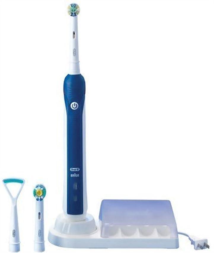 ベンチ書き込み計画的ブラウン オーラルB 電動歯ブラシ スリム&高機能モデル D205353