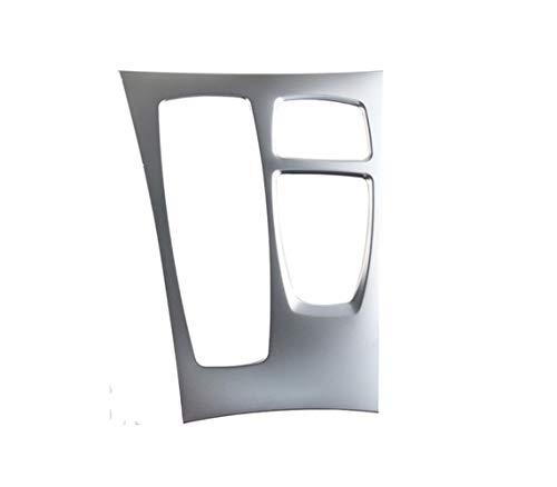 GXDD Car Styling Center Console Gangschaltung Panel-Dekoration Gears Tasche Aufkleber Trim Gepasst For BMW X5 E70 X6 E71 Interior Zubehör Auto-Innendekoration (Color Name : B Model Silver)