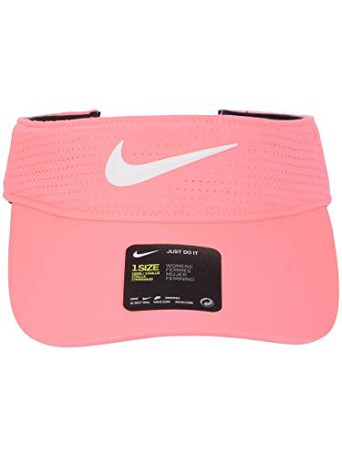 nike running visors Nike Women's Aerobill Golf Visor (Sunset Pulse)