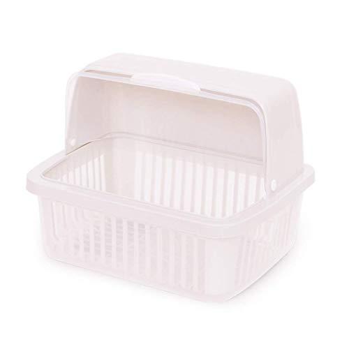 PYROJEWEL Estante de la Cocina Lixin Cubiertos de plástico Rack (Color: Natural, Tamaño: 38,3 * 28,5 cm) (Color: Natural, Tamaño: 38,3 * 28,5 cm) Adecuado para Dormitorio, Sala de Estar, baño, Kit