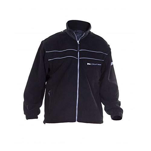 Hydrowear 04026025F Kiel Klassische Fleece-Jacke Schwarz Größe XL