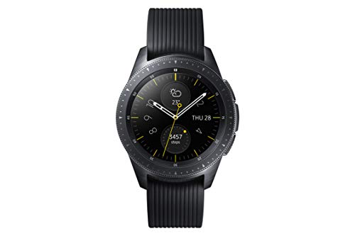Samsung SM-R815FZDADBT Galaxy Watch 42 mm (LTE), Schwa