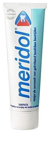 Meridol Zahnpasta für gereiztes Zahnfleisch - 6er Pack (6 x 75 ml)