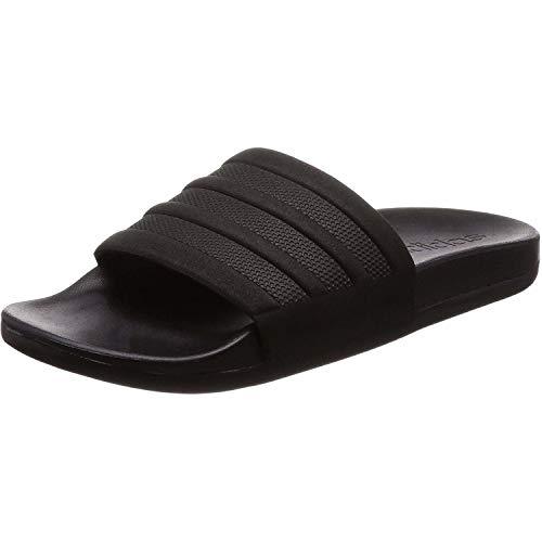 Adidas Adilette Cf+ Mono - Scarpe da Spiaggia e Piscina Uomo, Nero (Core Black/Core Black/Core Black), 38 EU