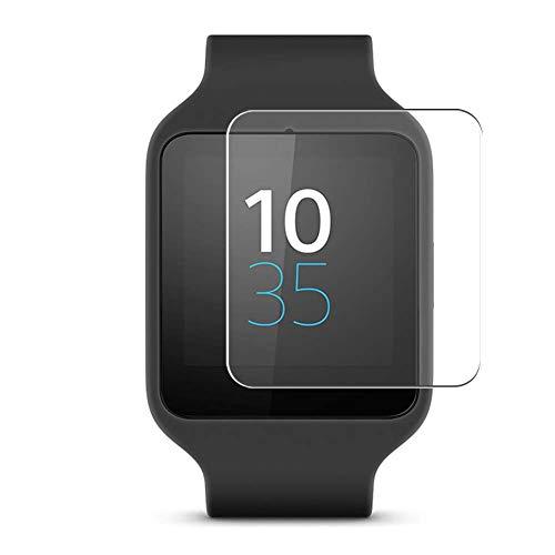 Vaxson 3-Pack TPU Pellicola Protettiva, compatibile con Sony Smartwatch 3 Smartwatch Hybrid Watch, Screen Protector Film [ Non Vetro Temperato ]