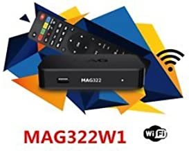 MAG322W1 with 12 Months Subscription (All Channels 4000+ HD All World)