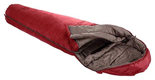Grand Canyon Kansas 190 Mumienschlafsack - Premium Schlafsack für Outdoor Camping - Limit 0° - Red Dahlia