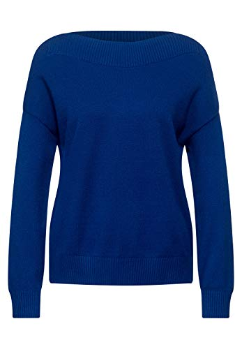 Street One Damen Softer U-Boot Pullover Cobalt Blue 40