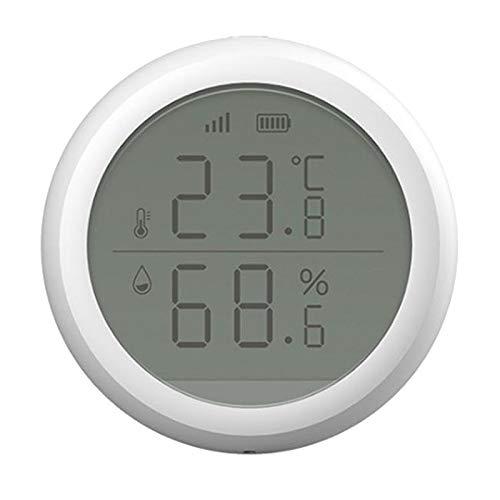 MagiDeal Medidor de Monitor de Humedad Termómetro Higrómetro Interior Digital LCD