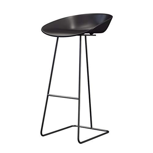 Iron Art Bar Tabouret, Tabouret de beauté en Trois Dimensions, géométrique, Minimaliste et Moderne, Chaise de Loisirs, idéal pour Un comptoir de 95-115 cm