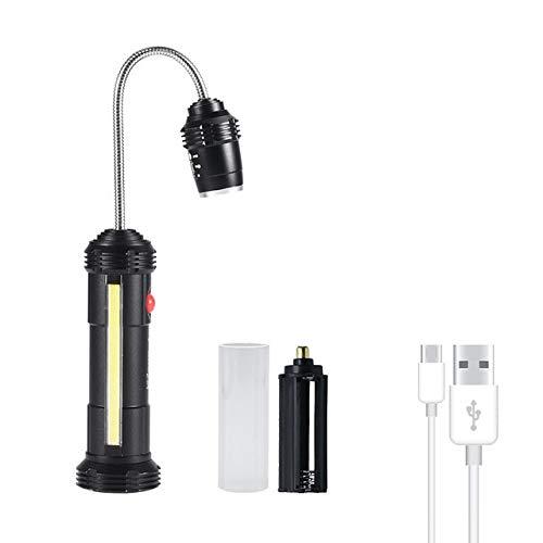Barbecue Grill Light Geführtes Arbeitslicht torch wasserdicht Grill Licht USB aufladbare Aluminiumlegierungsgitter Licht zoombar Magnet Laterne LED-Lichter Grill