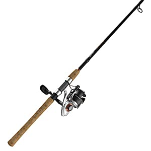 Quantum PT Reliance Spinning Reel and Fishing Rod Combo, Graphite Rod with Cork Handle, Saltwater or Freshwater Ready with Fully Sealed Fishing Reel, Multi, One Size (RELC40721MH.NS2)