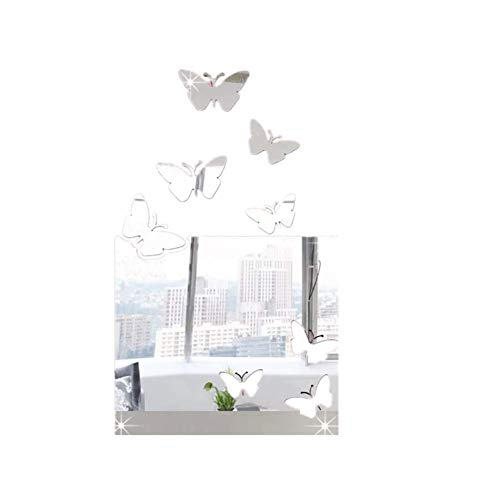 PLUS PO Kleiner Wandspiegel Spiegel Zum Aufkleben Auf Schrank Große Spiegel Für Wohnzimmer Wohnzimmer Spiegel Wand Acryl Spiegel Acryl Spiegel Silver