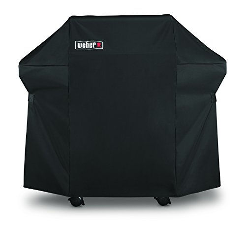 WEBER-STEPHEN PRODUCTS Spirit 300 Grill Cover, Black Polyester