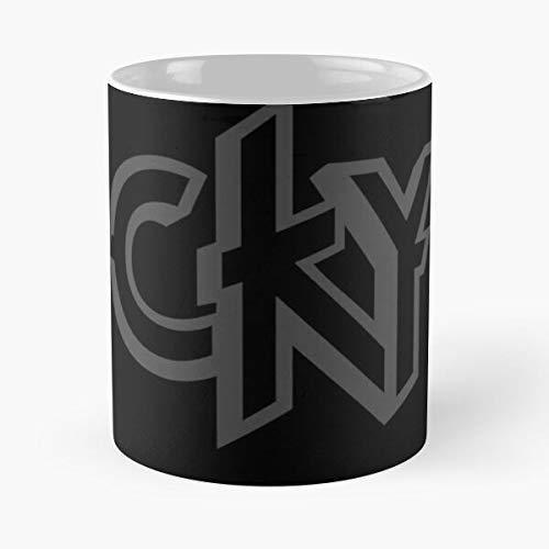 CKY Bam Margera Indie Camp Gnarkill Kill Yourself Heavy Metal Music Best 11 oz Kaffeebecher - Nespresso Tassen Kaffee Motive