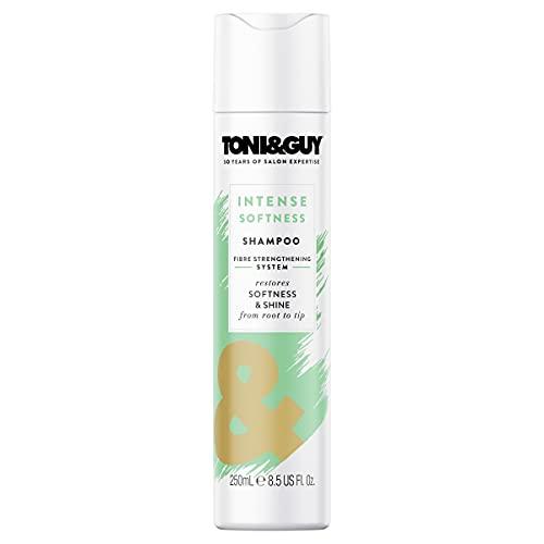 TONI&GUY - Shampooing Douceur Intense pour Cheveux Normaux avec l'huile de rose 250 ml