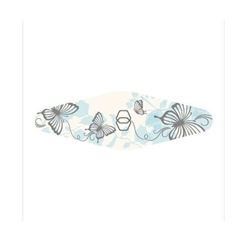 笑い著者きらきらGOEI DIAMOND ダイヤモンド爪やすり キャリー(ブルー蝶々)