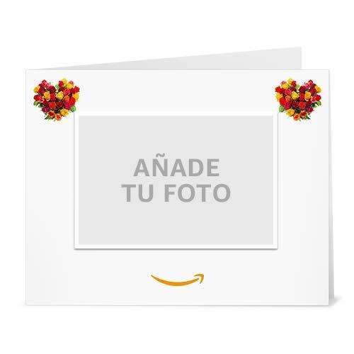 Cheque Regalo de Amazon.es - Imprimir - Carga una foto - San Valentín