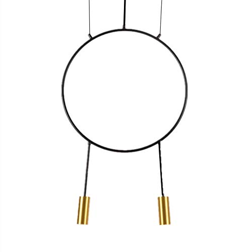 Libuty Moderna Minimalista geométrico de la lámpara Creativa Hierro Forjado Restaurante Bar Decoración Luces Pendientes Combinación Dormitorio Sala de decoración de Interior Lámpara Colgante