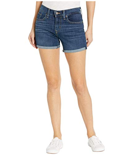 Levi's Women's Mid Length Shorts, Maui Ocean Depths, 34 (US 18)