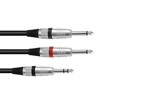 Omnitronic 30225219 aK 15–câble jack stéréo - 1,5 m