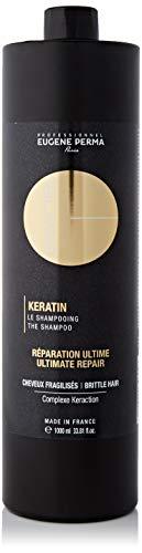 Essentiel Keratin Shampooing Réparation ultime pour cheveux fragilisés 1000 ml
