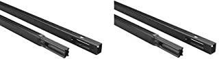 Chamberlain Group G8808CB-P Chamberlain 8808CB 8-Foot, Compatible Whisper Drive Plus Models, Includes Replacement Belt Garage Door Opener 8 Ft Rail Extension Kit (2-(Pack))
