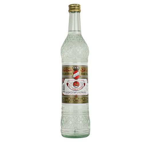 Touma - Original libanesischer Arak 50 % Vol. - Arrak in edler 0,54 Liter Glasflasche