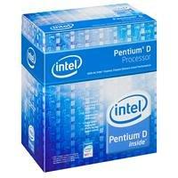 Intel Pentium D 915 Box Dual Core CPU Pentium D 2800 MHz Socket 775 PLGA 800 FSB 2 x 2048 KB C1 64 bit